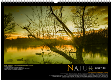 Cover Wall Calendars Nature - Naturally nature is wonderful, beautiful and unique.